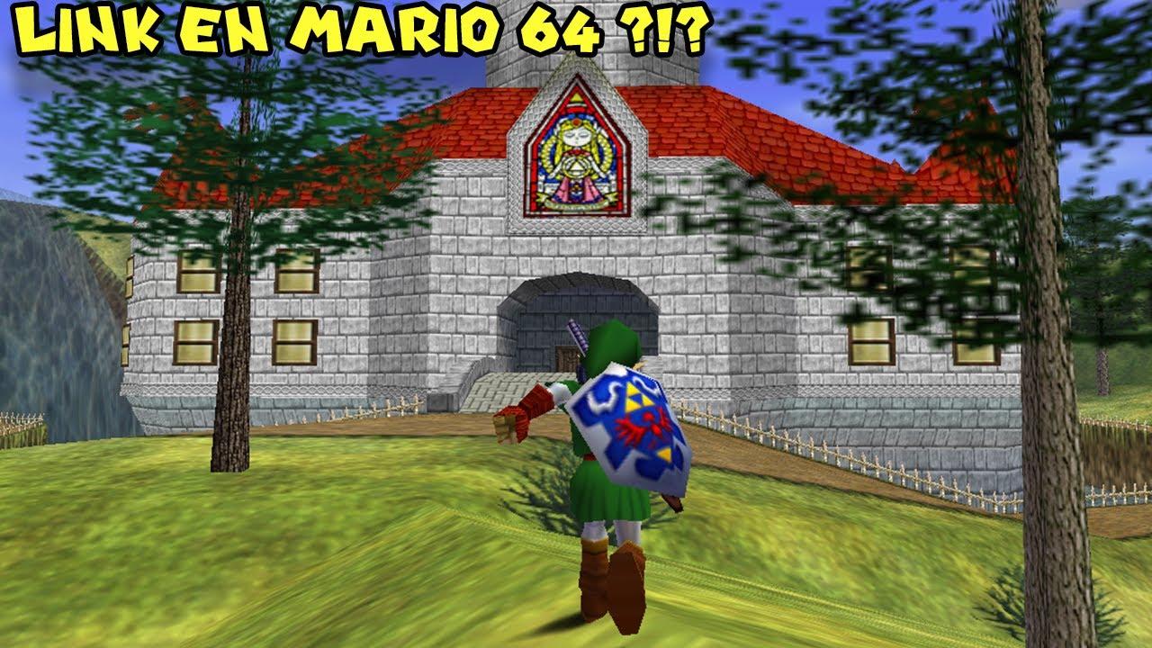 Link en MARIO 64 ?!? (HACK INCREIBLE) - Legend of Peach con Pepe el Mago