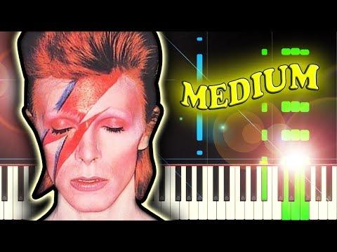 DAVID BOWIE - STARMAN - Piano Tutorial