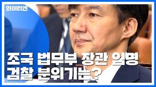 검찰, 공식 반응 없어...조국 임명일에 첫 구속영장 청구 / YTN