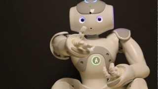 NAO robot kissing! - A Robot App!