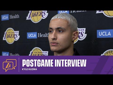 Lakers Postgame: Kyle Kuzma (4/15/21)