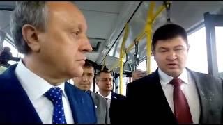 """Валерий Радаев об автобусах: """"Летом должен быть кондиционер, зимой – отопление"""""""