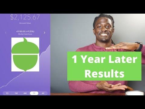 my-acorns-investment-aggressive-portfolio-app-after-1-year