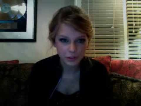 Taylor Swift Live Web Chat November 13th, 2008