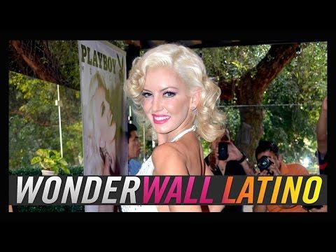 Isabel Madow se desnuda como Marilyn