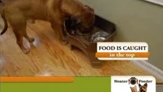 Neater Feeder As Seen On Tv Commercial Buy Neater Feeder As Seen On Tv No Spill Pet Bowls