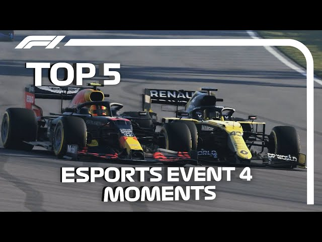 Top 5 Moments | 2020 F1 Esports Pro Series Grand Final