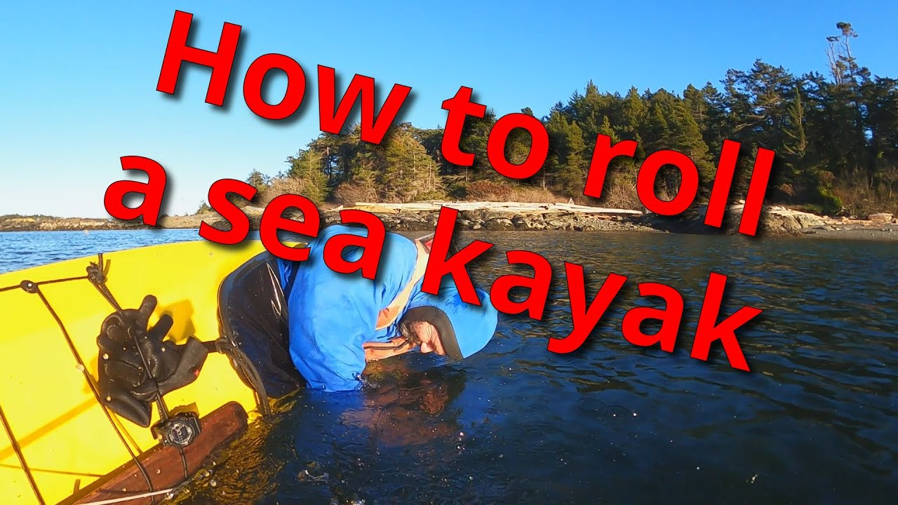 How to roll a sea kayak | Easy way to roll a sea kayak