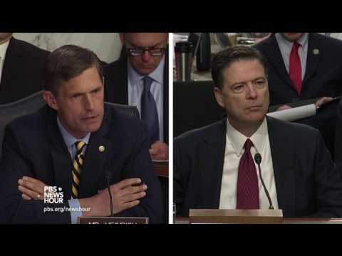 Russian election meddling is as 'unfake as you can possibly get,' Comey tells Heinrich