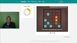 Lumosity Brain Workout 5-12