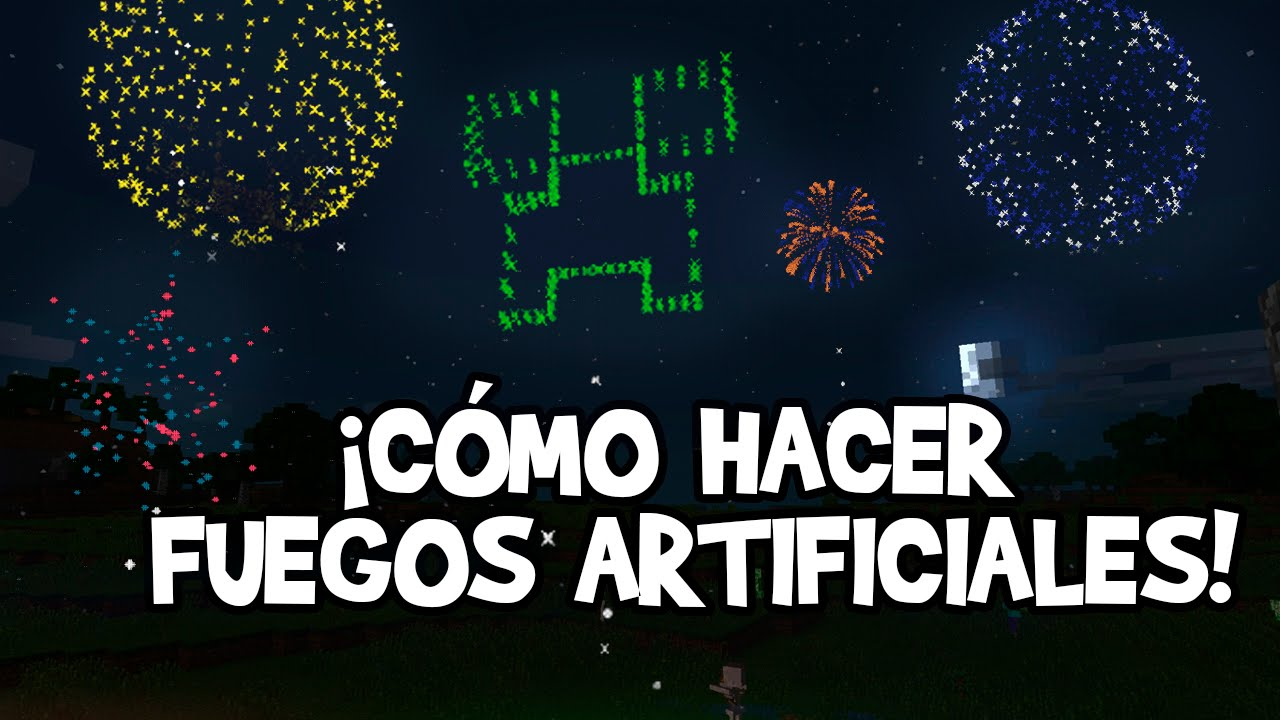 Como Hacer Fuegos Artificiales Minecraft Xbox 360 One Ps3 Ps4
