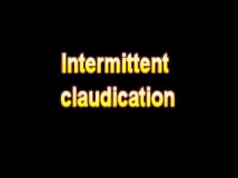 What Is The Definition Of Intermittent claudication ...