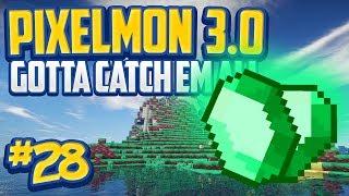 """Minecraft Pixelmon 3.0 """"Emerald City!"""" Gotta Catch 'Em All - Episode 28 (Minecraft Pokemon Mod)"""