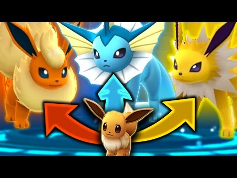 Pokemon GO - SECRET EEVEE EVOLUTION TRICK!