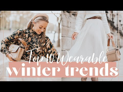 10 WEARABLE WINTER 2019 TRENDS // Fashion Mumblr. http://bit.ly/2GPkyb3