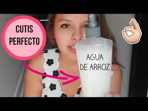 CUTIS PERFECTO EN MINUTOS - ELIMINA ACNE Y MANCHAS - AGUA DE ARROZ - Kimberly Recuero ?