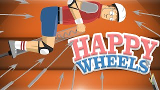 Happy Wheels! - MAKING THE IMPOSSIBLE POSSIBLE (Funny Moments)