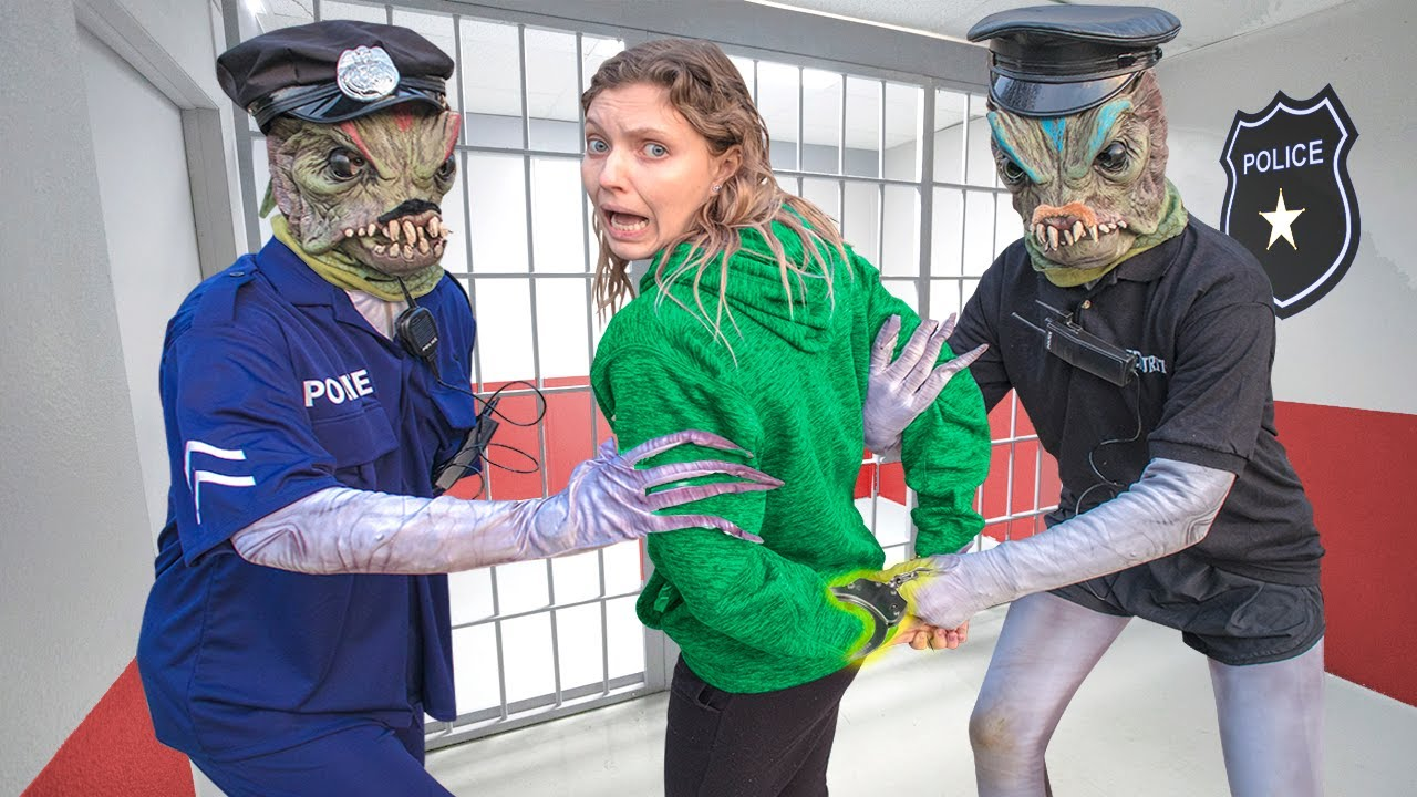 Download Pond Monster Working UNDERCOVER as Secret Agent to CAPTURE GRACE SHARER (Im in Jail...)