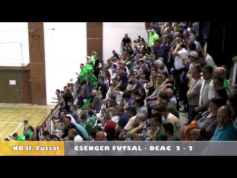 Futsal CSENGER - DEAC osszefoglalo 2017 05 15 HD