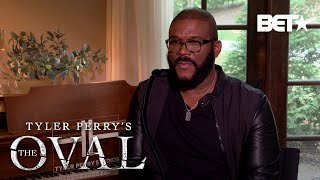 "Tyler Perry & The Cast ""The Oval"" Reveal Why You'll Love The Show! 