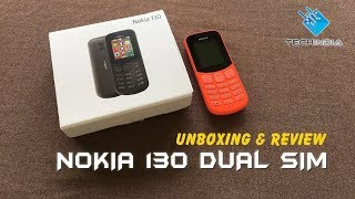 Nokia 130 Dual Sim (Red) Unboxing & Review