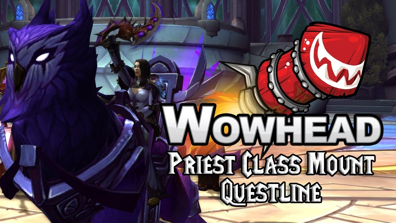 Priest Class Mount Questline Youtube