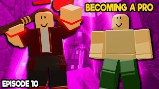 NOOB TO PRO *BECOMING A PRO!* IN DUNGEON QUEST ROBLOX