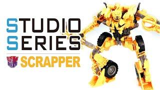 Studio Series 60 SCRAPPER 電影工作室 工程金剛 鏟土機/廢鐵【KL變形金剛玩具分享513】