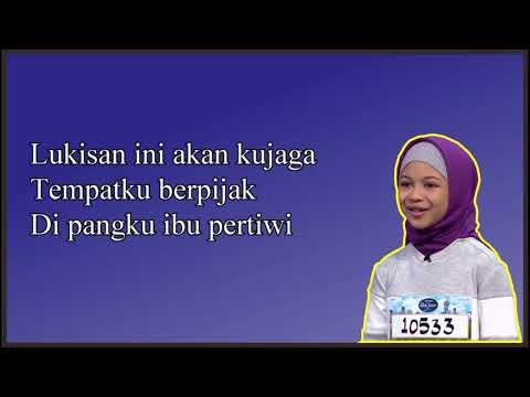 Lirik Hana - Lukisan Indonesia