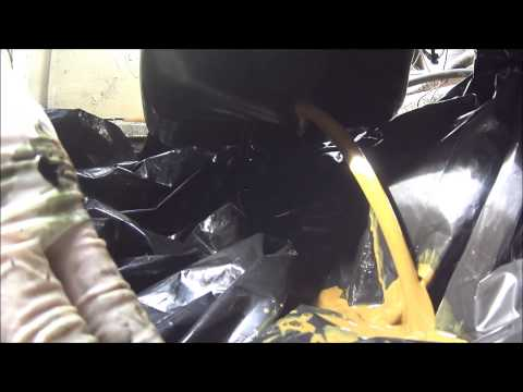 How to winterize a boat step by step on the mercruiser 3 0 for Outboard motor oil change pump
