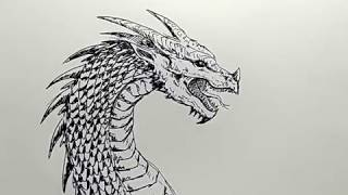 Video cara menggambar kepala naga / how to draw dragon head download MP3, 3GP, MP4, WEBM, AVI, FLV Agustus 2018