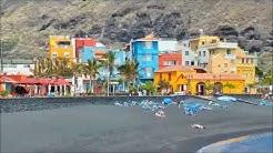 Impressionen Tazacorte Strand Promenade La Palma Info Video HD