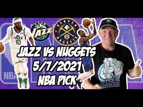 NBA Betting Pick: Utah Jazz vs Denver Nuggets 5/7/21 Free NBA Pick and Prediction