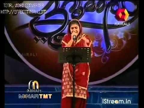 Patturumal  Rahna sings the song Niskaara Paya.....avi