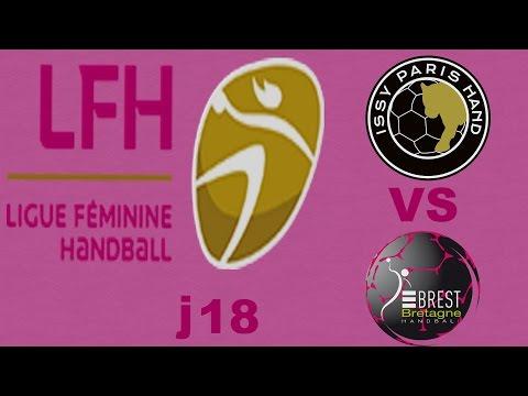issy Paris vs Brest Handball LFH J18