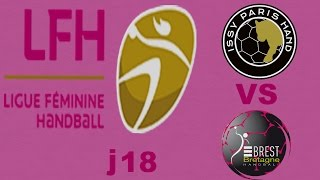 issy Paris vs Brest Handball LFH J18
