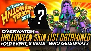 Overwatch | Halloween Skins DATAMINED - Event_8 (Who Could Get What?)