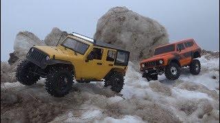 Внедорожники По Ледяным Горам ... Ice Mountains Vs Suvs