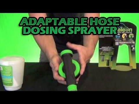 Chameleon Adaptable Hose Dosing Sprayer - Hose End Fertilizer Mixer Water  Dosage Nutrients Cheapest