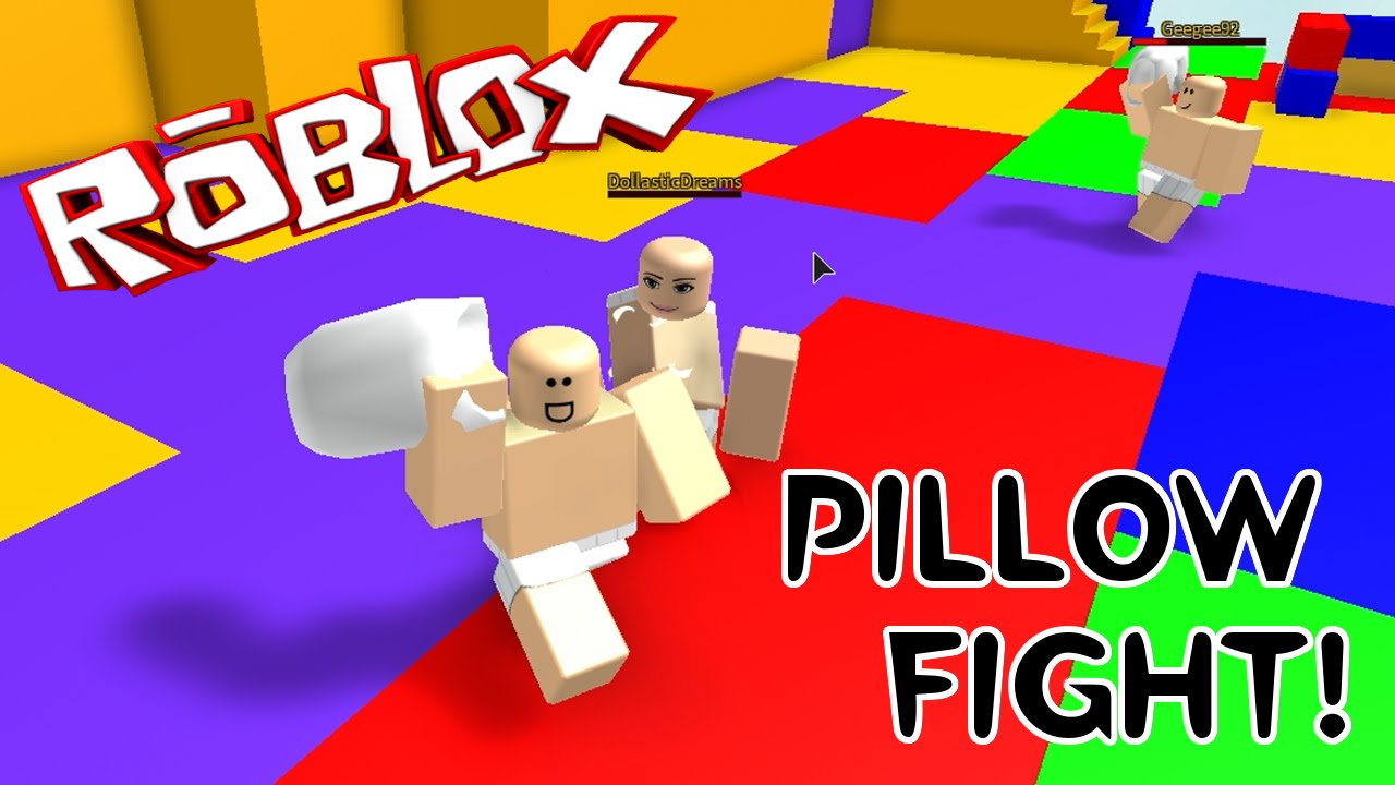 Roblox Pillow Fight Just The Girls Lastic Sally Audrey