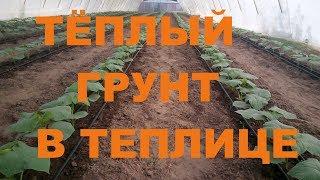 видео: Тёплый грунт в Теплице