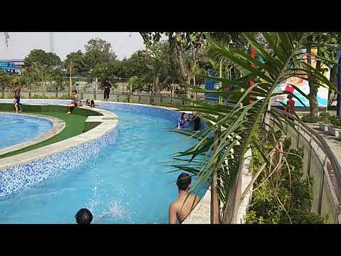 Super river ride at Atlantic water world Kalindi kunj  Delhi......