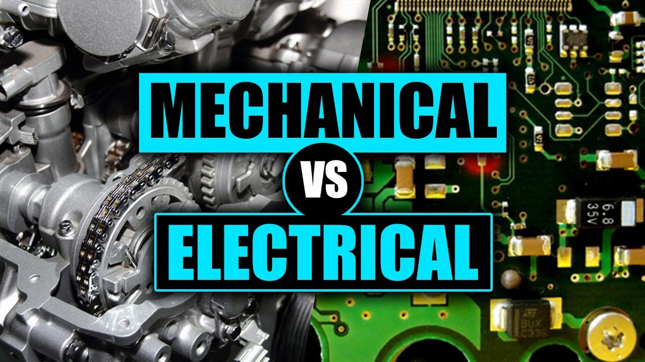 Mechanical Vs Electrical Engineering How To Pick The Right Major Youtube