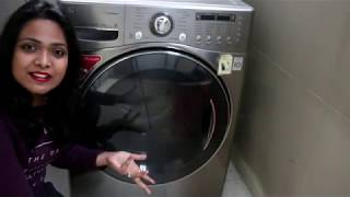 Lg Washing Machine Front Loader Demo Hindi