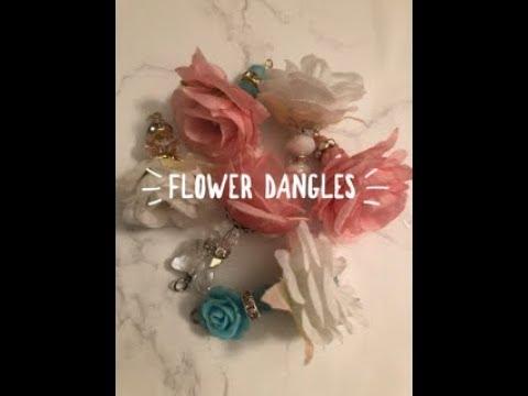 Flower dangles inspired by NurseTara04