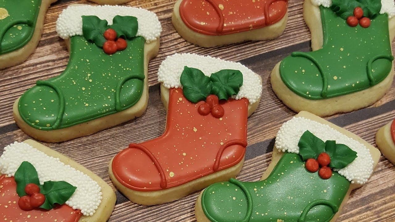 Stocking Sugar Cookies On Kookievision By Sweethart Baking Experiment