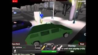Roblox washington D.C car chase mayhem!