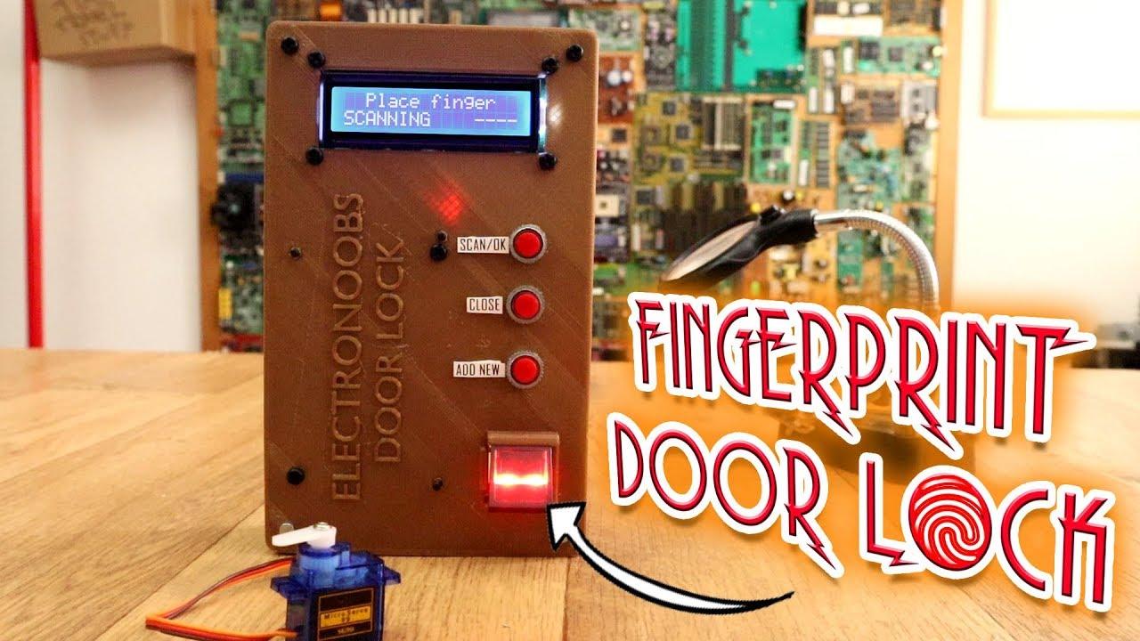 Arduino Fingerprint Door Locking System | Open Electronics