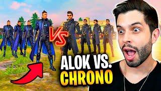 ALOK vs. CHRONO (CR7)!! QUAL O MELHOR PERSONAGEM DO FREE FIRE??