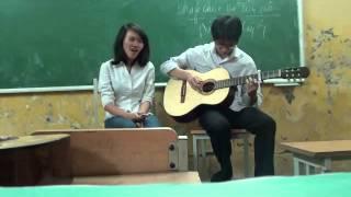 Hoa nang guitar cover - clb guitar dhsp HN